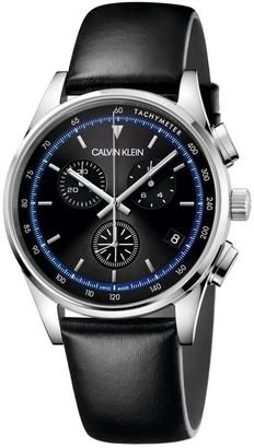 Calvin Klein Completion Chronograph Black Watch