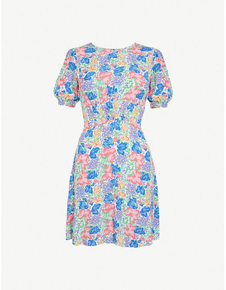 Faithfull The Brand Sidonie floral-print crepe mini dress