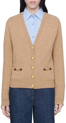 Gucci Horsebit Pocket Cashmere Cardigan