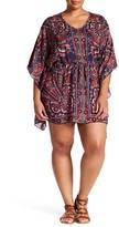 Angie Print Kaftan Dress (Plus Size)