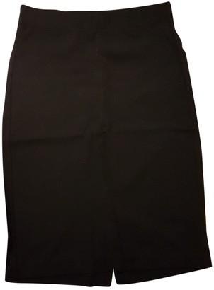 Filippa K Black Cotton - elasthane Skirt for Women