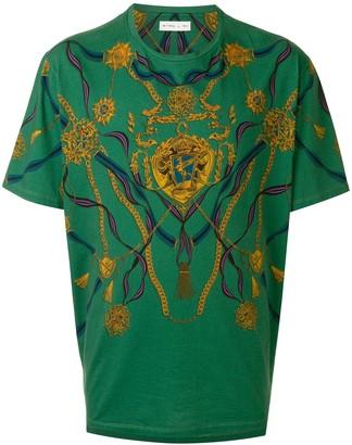 Etro chain-print cotton T-shirt
