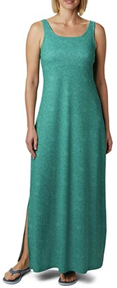Columbia Freezertm Maxi Dress (Stormy Blue Seaside Swirls) Women's Dress