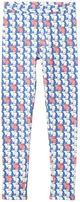 crewcuts by J.Crew Everyday Leggings (Toddler/Little Kids/Big Kids) (Lapis Blossom) Girl's Casual Pants
