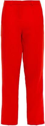 BA&SH Cropped Crepe Straight-leg Pants