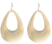 Alexis Bittar Contoured Loop Frontal Drop Earrings