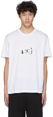 Givenchy White Stamp Patch T-Shirt