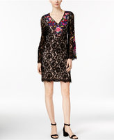 INC International Concepts Embroidered Lace Sheath Dress, Only at Macy's