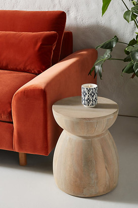 Anthropologie Betania Side Table By in Beige Size L