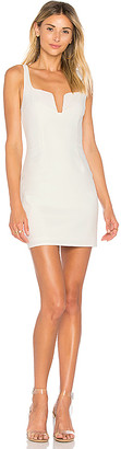 by the way. Cici Square Neck Mini Dress