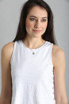 Kendra Scott Cory Rhodium Black Mother of Pearl Necklace