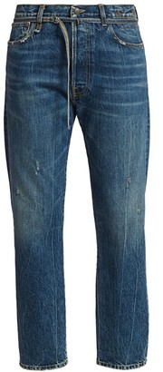 R 13 Hayden Paperbag Jeans