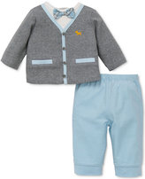Little Me Preppy Pup Pant Set