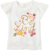Carter's Be Kind Graphic Cotton T-Shirt, Toddler Girls (2T-4T)