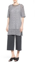 Eileen Fisher Women's Organic Linen Stripe Knit Tunic