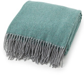 Lexington Company Lexington Urban Wool Throw Green/Grey 130x170cm