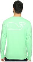Vineyard Vines Long Sleeve Vintage Whale Pocket Tee Men's T Shirt