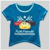 Cars Toddler Girls' Sharkbite Short Sleeve T-Shirt - Turquoise