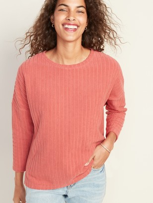 Old Navy Loose Wide-Wale Terry Tee for Women