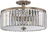 Quoizel Mirage Semi-Flush Mount Fixture in Gold
