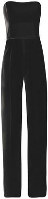 Cliché Reborn Bandeau Jumpsuit With Wide Leg In Black