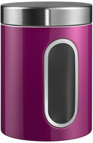 Wesco Kitchen Storage Canister with Window - Purple