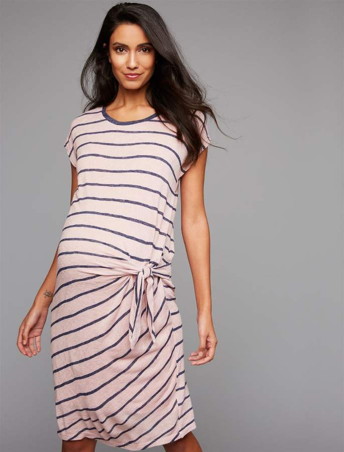 8e9c590be20 Velvet Maternity Dress - ShopStyle