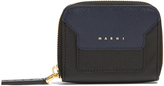 Marni Trunk zip-around leather coin purse
