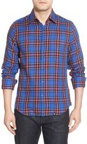 Stone Rose Men's Classic Fit Plaid Sport Shirt