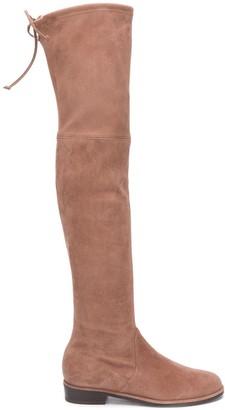 Stuart Weitzman Knee-Length Suede Boots