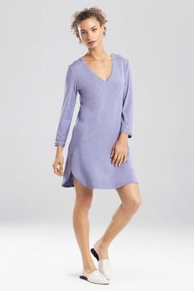 Natori Feathers Essentials Long Sleeve Sleepshirt