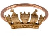 Annina Vogel Rose Gold Crown Ring
