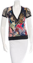 Christian Lacroix Printed Short Sleeve Top