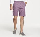 Johnston & Murphy Garment-Washed Shorts