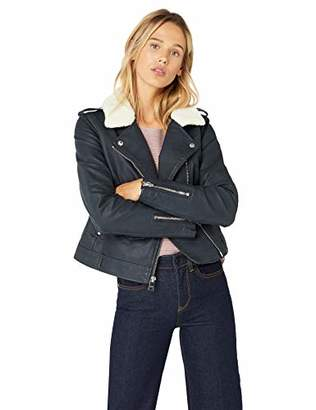 Levi's Women's Belted Assymetrical Motorcycle Jacket