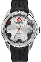 Reebok Impact Stainless Steel and Silicone Strap Watch