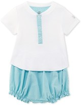 Petit Bateau Baby boy T-shirt and bloomers set
