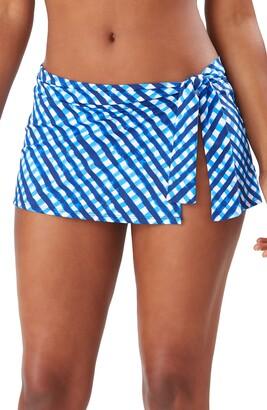 Tommy Bahama Harbour Island Skirted Hipster Bikini Bottoms