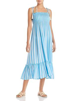 Cool Change Coolchange Piper Toiny Striped Midi Dress Swim Cover-Up