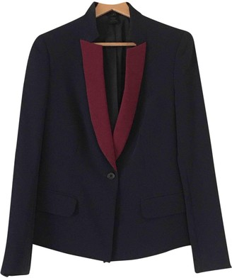 Marc by Marc Jacobs Blue Polyester Jackets