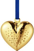 Georg Jensen Heart Tree Decoration - Gold Plated Brass