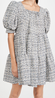 Sister Jane Waltz Tweed Confetti Dress