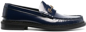 Versace GV Signature leather loafers