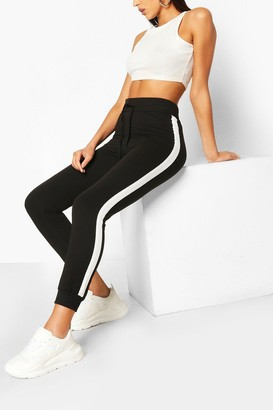 boohoo Slim Fit Jogger With Side Panel