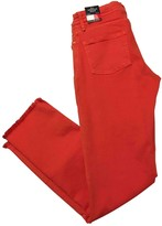Tommy Hilfiger Red Cotton - elasthane Jeans for Women