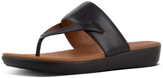 FitFlop Women's Delta Toe-Thong Sandals-Leather