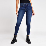 River Island Dark blue Amelie super skinny jeans