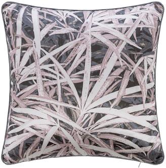 Roberto Cavalli Papyrus Velvet Cushion - 40x40cm - Rose