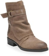 Fergie Womens Neptune Leather Almond Toe Ankle Fashion Boots