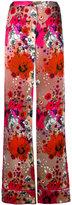 Roberto Cavalli floral print palazzo trousers - women - Silk - 42